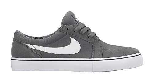 Cool II White Grey black Gris Basses Satire SB Nike Baskets Homme wHE0Awzq
