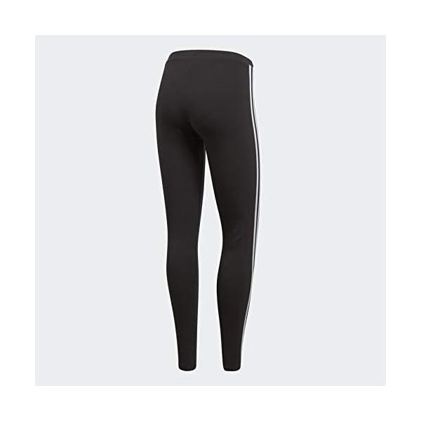 adidas Originals Women's 3-Stripes Leggings, Black, Medium