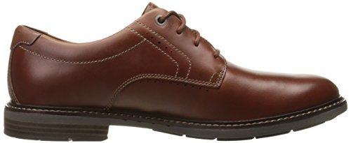 Clarks Mens Unelott Plain Oxford Tan