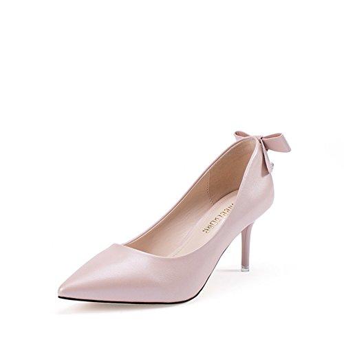 PUMPS Schuhe Fine Heels,Sweet Bow Wies Schuhe C