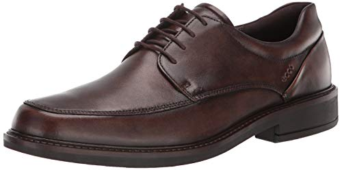 ECCO Men's Holton Apron Toe Oxford, Cocoa Brown, 44 M EU (10-10.5 -