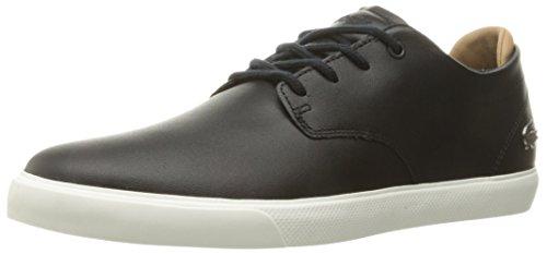Lacoste Men's Espere 117 1 Cam Fashion Sneaker, Black/Off White, 8 M US