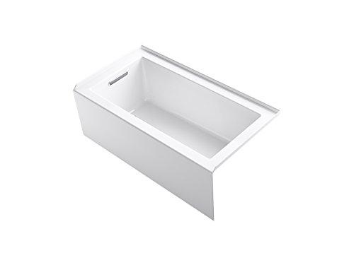 KOHLER 20202-LA-0 Underscore Bathtub, White