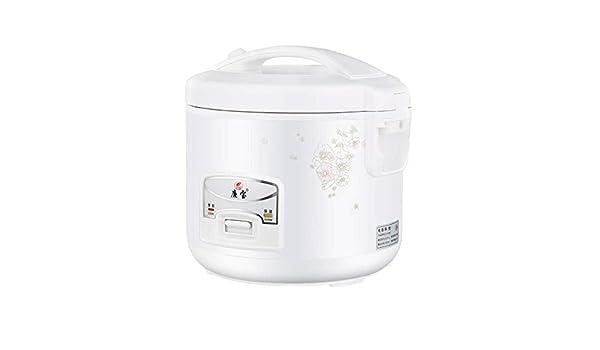 Pequeña arrocera doméstica 2-5 litros mini arrocera vintage 3-4 personas: Amazon.es: Hogar
