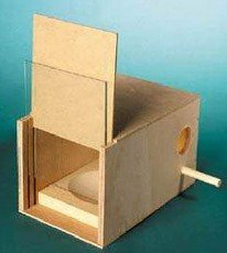 Posh Pets Nesting Box With Glass Slide Suitable For Budgies by Posh Pets