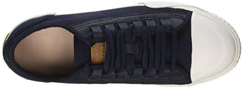 Wmn Bleu Scuba Saru dk Raw Basses Blue 6486 Rackam Femme G Sneakers star x6I8wqf