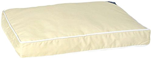 picture of Pet Dreams New Ultra-Bliss Memory Foam Bed, Large, Khaki