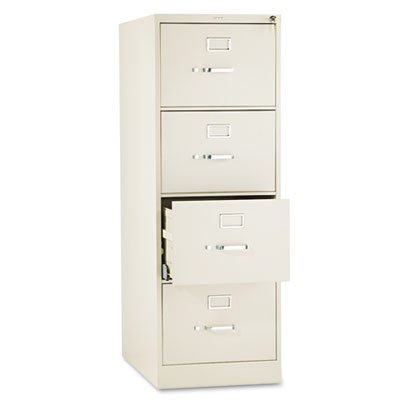 HON 514CPL 510 Series 52 by 25-Inch 4-Drawer Full-Suspension Legal File, Putty (Format Cabinet Lighting)