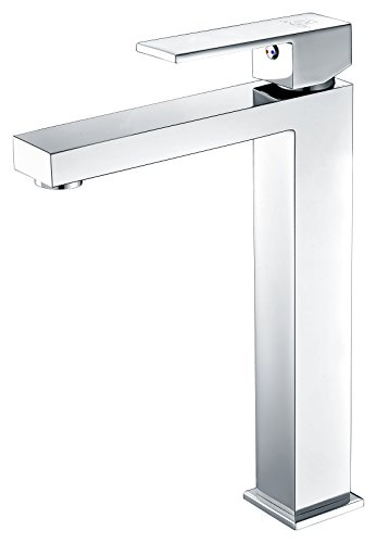 Brushed Chrome Single Handle - Single Hole Single-Handle Bathroom Faucet - Polished Chrome - Enti Series L-AZ096 - ANZZI