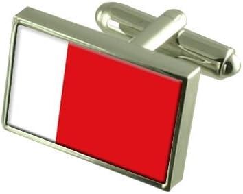 Select Gifts Dubai Flag Cufflinks Personalised Engraved Keepsake Box