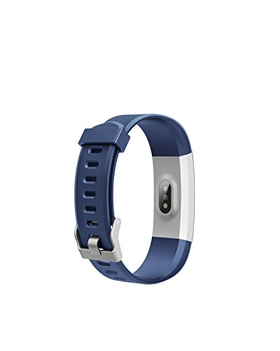 RONTEN Fitness Tracker, R2 Plus Heart Rate Monitor Waterproof Activity Tracker, Bluetooth Wireless Smart Bracelet Replacement Strap Android iOS Smartphones