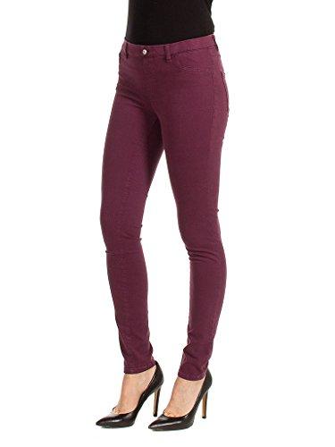 para Vaqueros Jeans 491 Mujer Skinny Burdeos Carrera vatP1qn