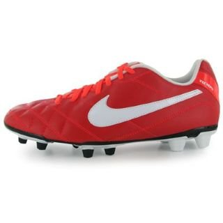 Tiempo Rio firm ground cleats - red-42 | 8.5