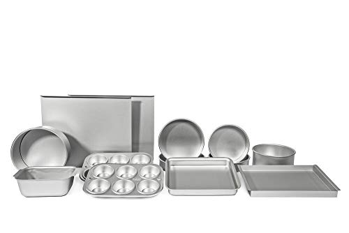 AS DeliaS Quality Bakeware Full Set Bakeware Gift Set as Featured in Delias Cakes Book (not included)