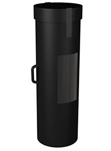 Cases By Source C1242-511 Tradeshow Graphics Case with Handle, 12'' Length, 12'' Width, 42'' Height, Black