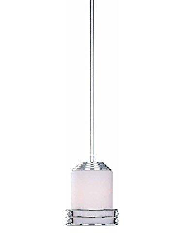 - Volume Lighting V7360-33 1-Light Mini-Pendant, Brushed Nickel