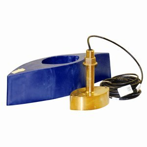 1KW 1000 Watt Transducer Bronze Thru-Hull with Temp & High Speed Fairing Block for GPS Fishfinder - Furuno