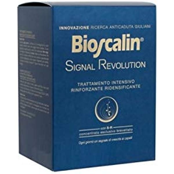 Bioscalin Signal Revolution - Tratamiento intensivo reforzante redensificante: Amazon.es: Belleza