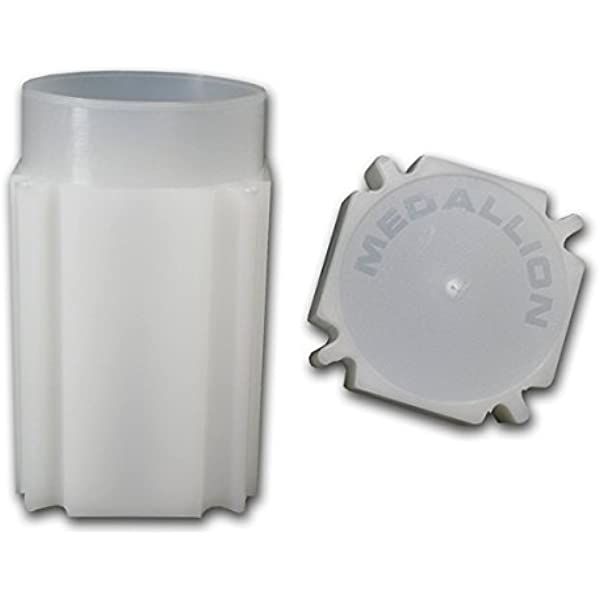 39mm CoinSafe Set of 20 Medallion Silver Round Tube