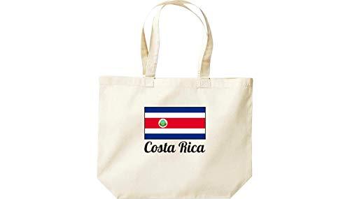 Grande Bolsa Shirtinstyle Natural Países Land Costa Compras De Rica Hx1wROqT