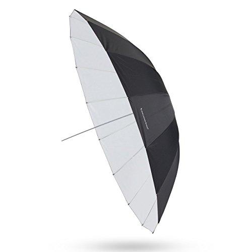 UNPLUGGED STUDIO 70inch White Umbrella (16 Fiberglass Ribs) by UNPLUGGED STUDIO (Image #9)