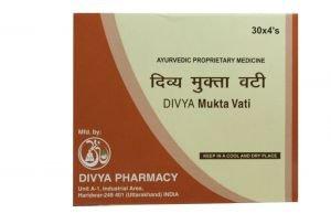 Divya Mukta Vati (Pack of 120 Tablets)