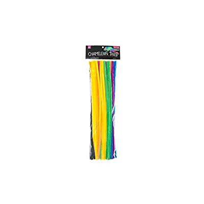 Chameleon Tails Pipe Cleaners/Chenille Stems 12 Inch x 6mm 100-Piece, Assorted Colors: Arts, Crafts & Sewing
