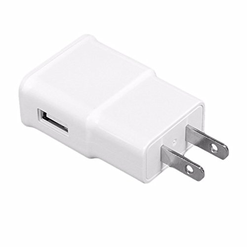 ReadyPlug USB Wall Charger for Bose QuietComfort 35 Wireless Headphones - AC/DC Wall Adapter 2A USB Port (White)