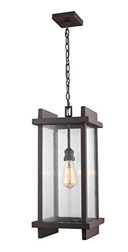 Z-Lite 565CHB-DBZ 1 Light Outdoor Chain Mount Ceiling Fixture, Deep Bronze