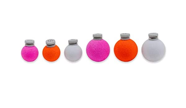 """Air-Lock Strike Indicators 3//4/"""" or 1//2/"""" Size Assorted Colors Fly Fishing Bobbers"""