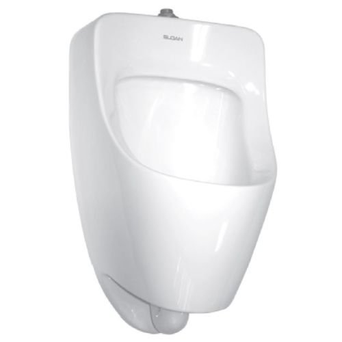 Sloan SU-7006-A Efficiency 1 GPF Small Urinal with Top Spud Placement, White by Sloan