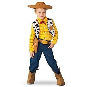 [Disney Store Toy Story 3 Sheriff Woody Costume for Boys Size Large 10] (Woody Toy Story Costume Accessories)