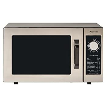 Panasonic NE 1025F Silver 1000W Commercial Microwave Oven