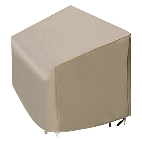 Patio High Back Three-Seats Sofa Cover Waterproof Outdoor Furniture Protection