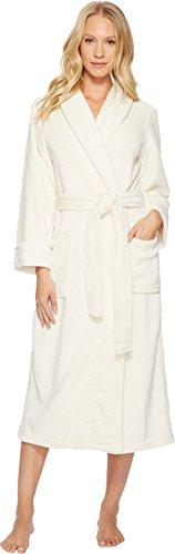 Spa Bone - N Natori Women's Cashmere Fleece Robe, Bone, L