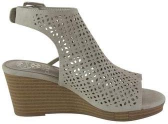 Vince Camuto Little//Big Girls Obal Seal Grey Wedge Sandals Shoes