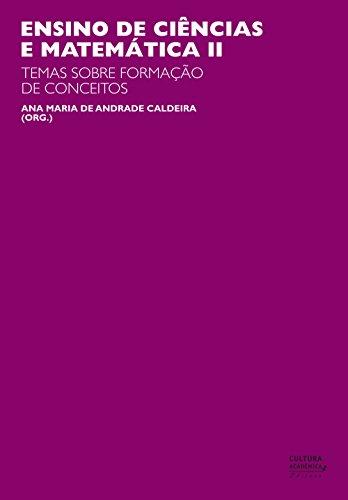 Ensino de ciências e matemática, II: temas sobre a formação de conceitos