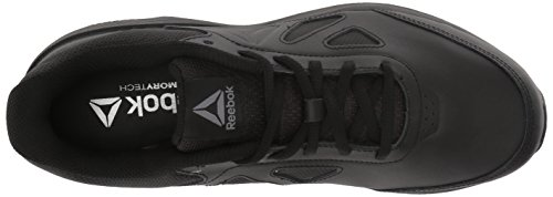 5a275382a9 Reebok Women's Walk Ultra 6 DMX MAX D Sneaker, Black/Alloy - Wide d, 5 M US