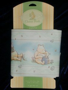 Classic Pooh A Bear and his Things Wallpaper Border - Prepasted