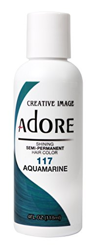 Adore Shining Semi Permanent Hair Colour, 117 Aquamarine by Adore