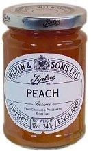 Tiptree Peach Preserve, 12 Ounce Jar (12 Jar Victorian Ounce)