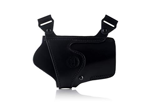 FALCO Horizontal Leather Shoulder Holster - Racoon Classic D204 -