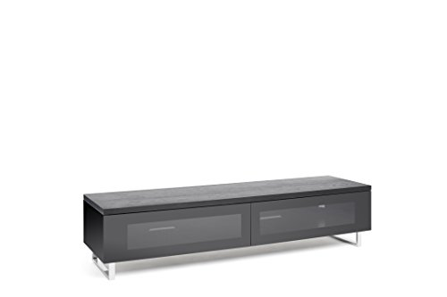 TECHLINK Panorama TV Stand with High Gloss Base with Top