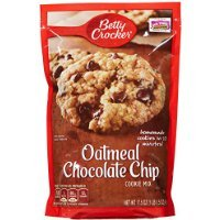 (Betty Crocker Oatmeal Chocolate Chip Cookie Mix, 17.5 oz, 2)