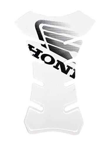 Quattroerre 18080 Tankbescherming voor Honda Motorfiets, 3D, transparant