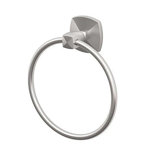 Gatco 4152 Jewel Towel Ring, Satin Nickel