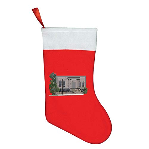 American South Columns Christmas Stockings Xmas Party Mantel Decorations Ornaments