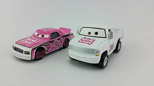 (Disney Disney Pixar Cars No.36 Tank Coat Met Pickup & Car Metal Diecast Toy Car 1:55 Loose in Stock &)