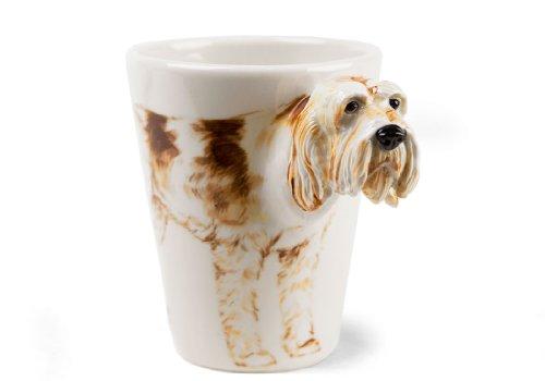 Italian Spinone 8oz White And Brown Roan Handmade Coffee Mug (10cm x 8cm)