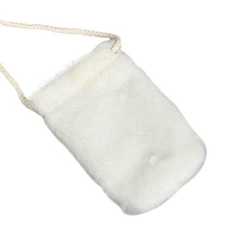 BZLine® Frauen Handtasche Schultertasche Tote Handy Tasche Damen Handtasche (Grau) Weiß